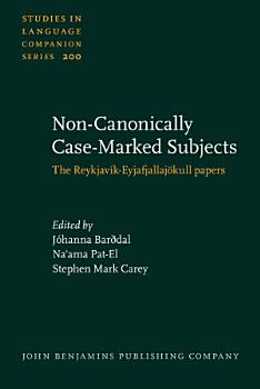 Non Canonically Case Marked Subjects PDF