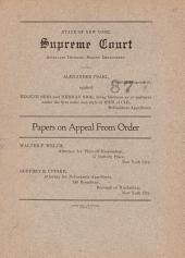 State of New York Supreme Court
