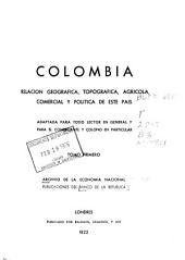 Archivo de la Economía Nacional: Número 1;Número 34