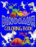 Dinosaur Coloring Book ~ Jumbo Dino Coloring Book for Children