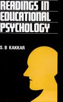 Readings in Educational Psychology PDF