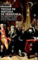 Trivias de historia de Venezuela PDF