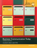 Business Communication Today  Global Edition PDF