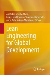 Lean Engineering For Global Development Book PDF