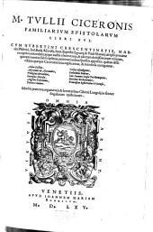 Familiarum epistolarum libri XVI