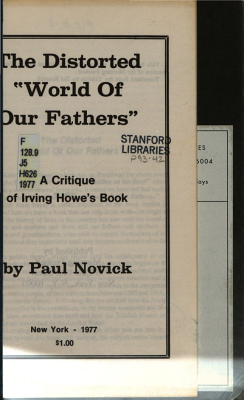The Distorted  World of Our Fathers  PDF