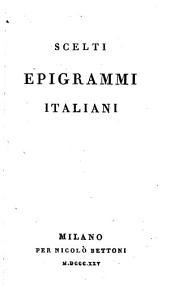 Scelti Epigrammi italiani