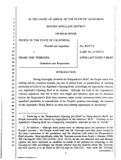 California. Court of Appeal (2nd Appellate District). Records and Briefs: B037713, Appellant's Reply