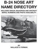 B 24 Nose Art Name Directory