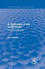 A Dictionary of the Underworld