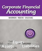 Corporate Financial Accounting: Edition 12