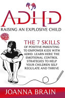 ADHD Raising an Explosive Child PDF