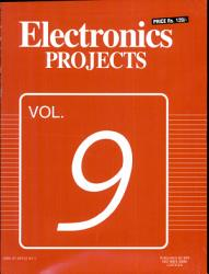 Electronics Projects Vol 9 Book PDF