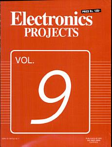 Electronics Projects Vol  9 Book