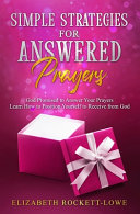 Download Simple Strategies for Answered Prayers Book