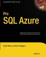 Pro SQL Azure PDF