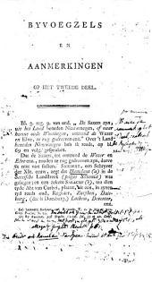 Byvoegsels en aanmerkingen voor het tweede deel der Vaderlandsche historie van Jan Wagenaar: Deel 2