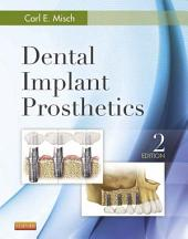 Dental Implant Prosthetics: Edition 2