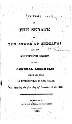 Journal of the Indiana State Senate     of the General Assembly      PDF