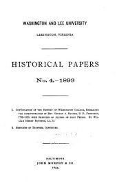 Historical Papers: Issues 4-6