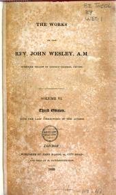 The Works of the Rev. John Wesley: Volume 6