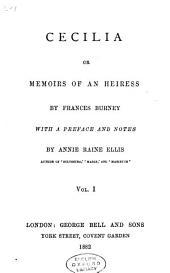 Cecilia, Or, Memoirs of an Heiress: Volume 2