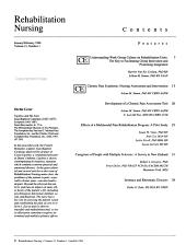 Rehabilitation Nursing PDF