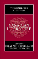 The Cambridge History of Canadian Literature PDF