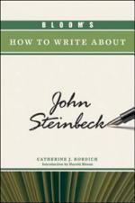 Bloom's How to Write about John Steinbeck