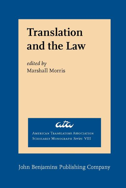 Download Translation and the Law Book
