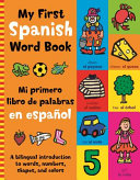 My First Spanish Word Book Book