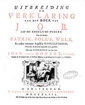 Verklaring van de geheele Heilige Schrift, door eenigen van de voornaamste Engelsche godgeleerden: Volume 14