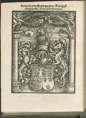¬Ein brieff des Edlen Künigs, uß Engelandt zu den Fürsten von Sachßen von dem Luther. Hertzog Jörgen uß Sachßen antwurt