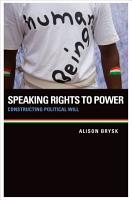 Speaking Rights to Power PDF