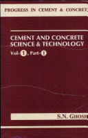 Cement and concrete science and technology. 1,1