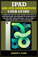 IPad Air 4th Generation User Guide