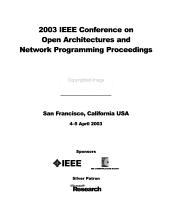 IEEE Open Architectures and Network Programming Proceedings PDF