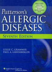 Patterson's Allergic Diseases: Edition 7