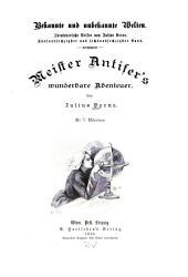 Meister Antiferś wunderbare Abenteuer: Bände 1-2