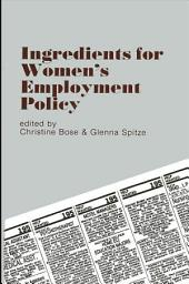 Ingredients for Women's Employment Policy