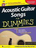 Acoustic Guitar Songs for Dummies (Songbook)