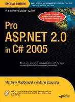Pro ASP NET 2 0 in C  2005  Special Edition PDF