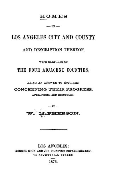 Homes In Los Angeles City And County