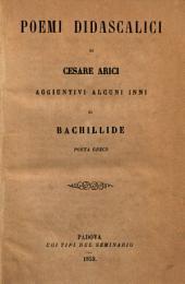 Poemi didascalici di Cesare Arici