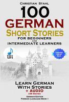 100 German Short Stories for Beginners PDF