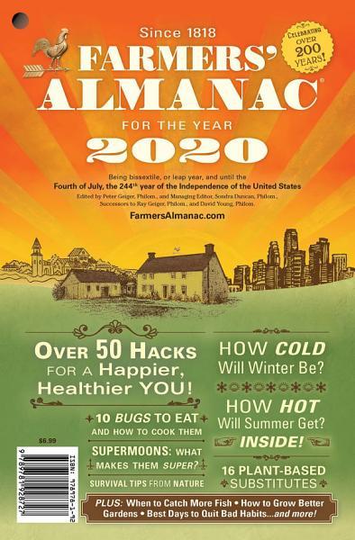 Download Farmers  Almanac 2020 Book