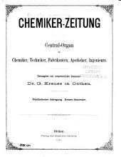 Chemiker-Zeitung: 1891, Band 15,Teil 1