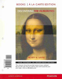 Discovering the Humanities Books a la Carte Plus New Myartslab with Etext    Access Card Package