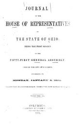 Journal of the House of Representatives ... General Assembly of Ohio ...: Volume 51
