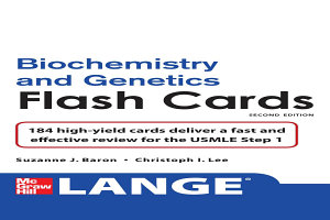 Lange Biochemistry and Genetics Flash Cards 2 E Book